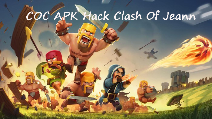 coc apk clash of jeann