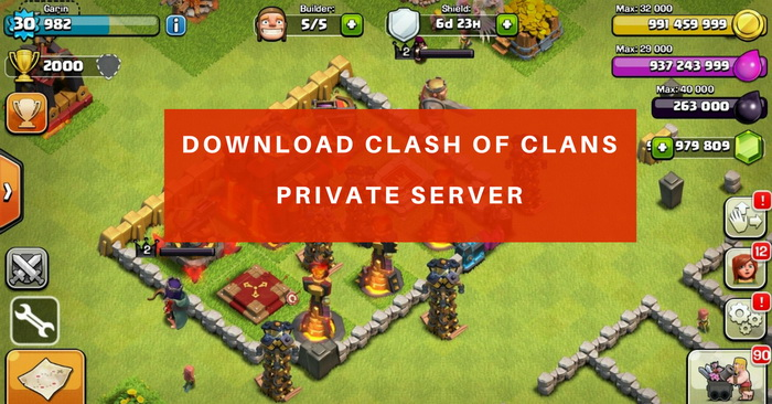 New FHx Clash of Clans Hack Mod Latest Version