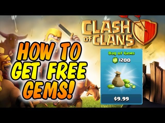 free gems clash of clans