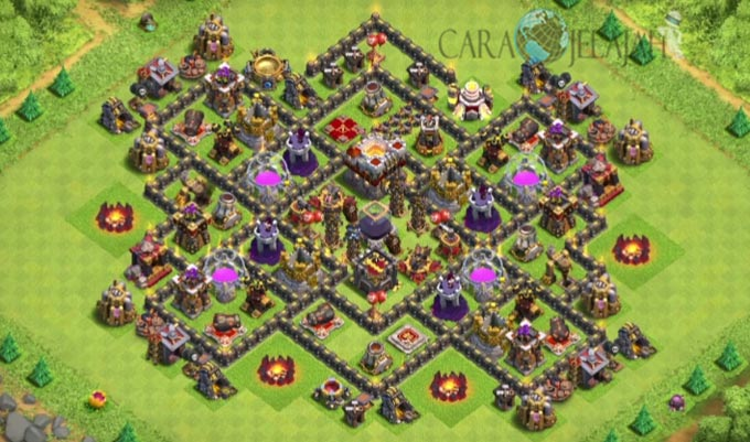 best th9 farming base