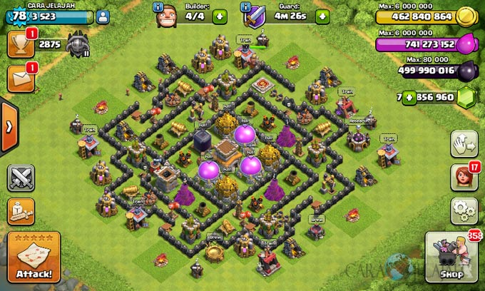 th8 trophy base type 11