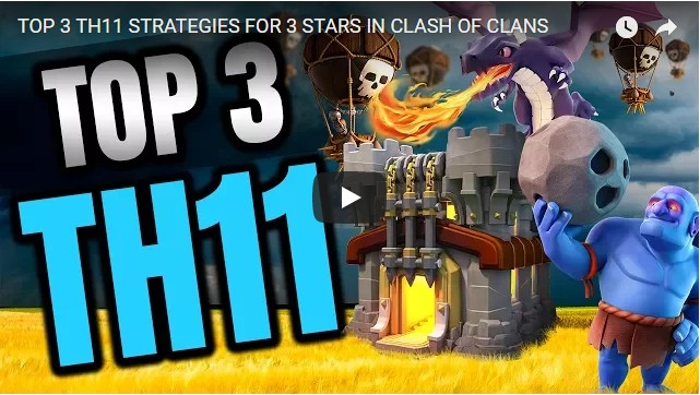 TOP 3 TH11 STRATEGIES