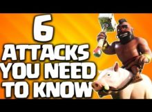 clash of clans th9 attack strategy
