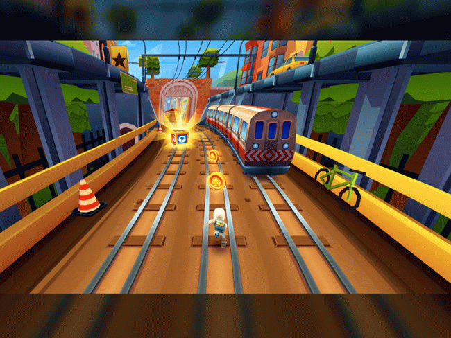 Review of Subway Surfers Game