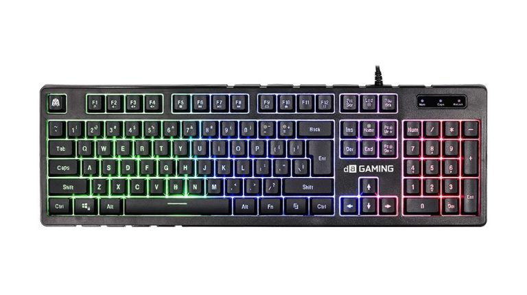 Digital Alliance Black Ruby Rainbow keyboard