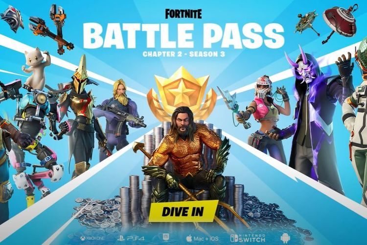 Fortnite Battle Pass Poster Chapter 2