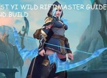 BEST YI WILD RIFT MASTER GUIDE AND BUILD